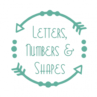 Letters Numbers and Shapes